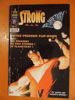 Tom Strong. N° 1 du 03/2000- America's best comics. éditions Spark