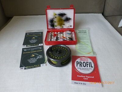 Fly Fishing Tackle Including K. P. Morritt Reel