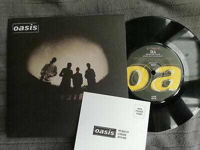 """OASIS Lyla UK Big Brother 7"""" picture sleeve vinyl record *AS NEW CONDITION*"""