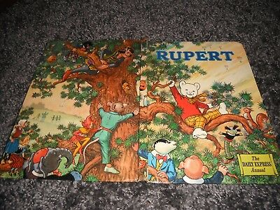 rupert the bear annual 1973 the daily express children's annual