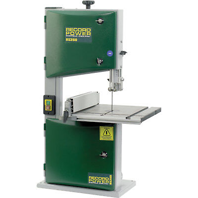 Record Power BS250 Compact Bandsaw 240v