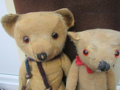 Two 1950's Teddy Bears looking for a new home where they can be together.