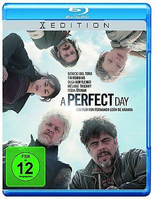 A PERFECT DAY - BLU RAY+Digital Copy  (Benicio Del Toro/Tim Robbins/Kurylenko)