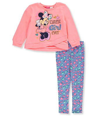 Disney Minnie Mouse Little Girls' Toddler 2-Piece Outfit (Sizes 2T - 4T)