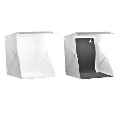 Mini Foldable Camera Photo Studio Box Photography LED Cube Lighting Tent LF808