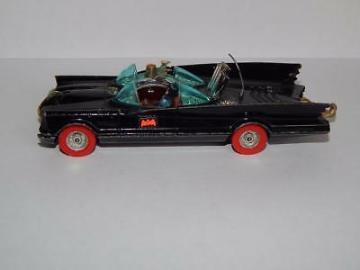 Corgi # 267 Batmobile - Super Rare All Orginal Red Wheeled Version -1978 Version