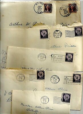 USA covers approx 93 dating from 1923 to 1958