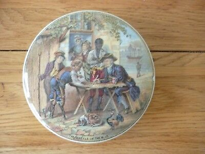 Prattware pot lid Battle of the Nile