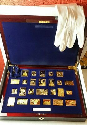USPS United We Stand Gold Plated Silver Ingot Stamp Collection