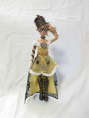 OOAK Custom Steampunk Barbie Doll, Display Only- Check this out!