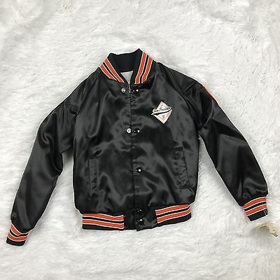 VTG San Francisco Giants Kids Locker Line Shiny Satin Jacket Sz. 6/7