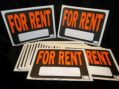 Plastic Sign For Rent- Qty 19