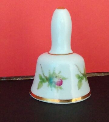 Sheer Elegance Bone China Miniature Bell Flower Motif