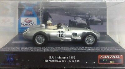 1.32 Cartrix 0017 1955 Mercedes W196 #12 Stirling Moss-Gp Inglaterra Le (Sealed)