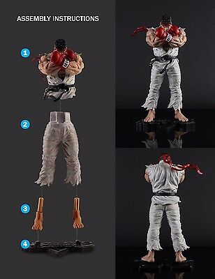 """Street Fighter V (5) 10"""" Ryu Statue - MINT CONDITION"""
