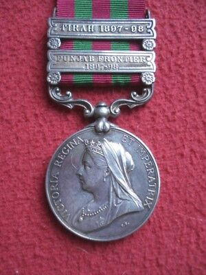 India General Service Medal To A Surgeon Captain In Madras Medical Dept
