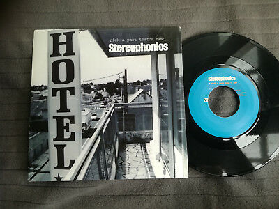 "STEREOPHONICS Pick A Part That's New UK V2 7"" picture sleeve vinyl record indie"