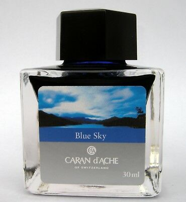 Caran d'Ache Blue Sky Ink from Colours of the Earth