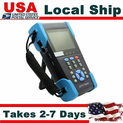 """3.5"""" TFT-LCD CCTV Camera Audio Signal Tester PTZ Controller POE Tester IP Search"""