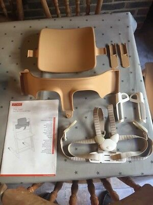 Stoke Tripp Trapp Baby Set & Extended Glider, Plus Harness.