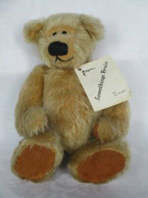 Vintage Somethings Bruin By Jill Hussey Hand Made Porridge Bear, Limited Edition