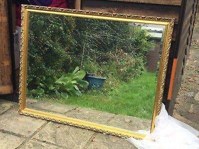 Gilded Mirror (large and heavy)