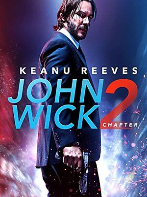 John Wick: Chapter 2 DVD New Sealed comes w/ Slipcover Keanu Reeves Free Ship