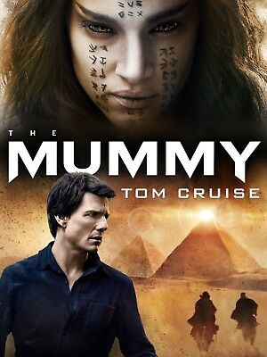 The Mummy DVD 2017 Tom Cruise New Factory Sealed Free shipping