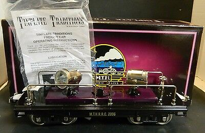 MTH Tinplate Traditions 200 Series Standard Gauge Searchlight Car 10-2156 NIB