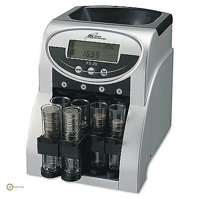 Coin Sorter Small Machine Row Us Commercial Electronic Penny Nickel Dime Quarter