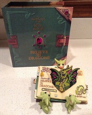 Pocket Dragons Believe in Dragons Members Only Certificate and Special Box NEW