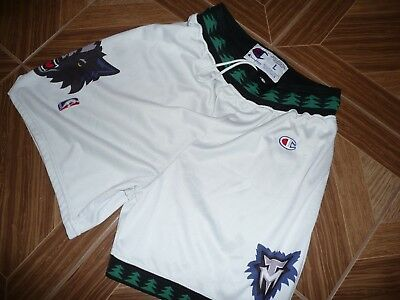 Minnesota Timberwolves Vintage NBA Shorts Basketball Champion Shirt