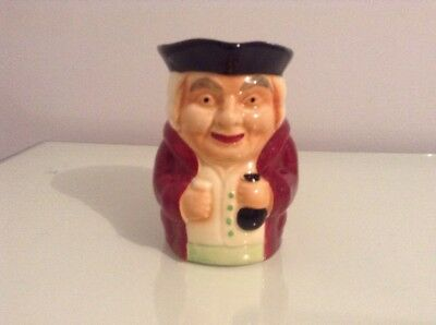 Genuine Staffordshire Shorter And Son Ltd England Hand Painted Toby Jug