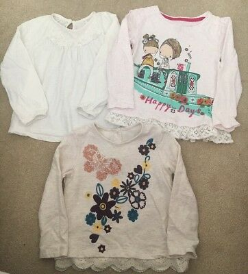 Girls Long Sleeve Top Bundle 3-4 Years