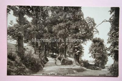 Worcestershire : Areley Lane, Stourport - Super Original Real Photo Postcard