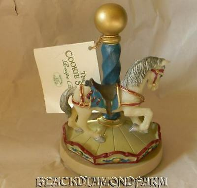 Brown Bag Carousel Animals Horse Cookie Stamp * #5 *
