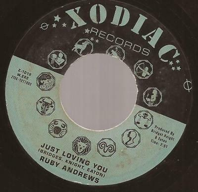 "Ruby Andrews / Otis Smith ""Just Loving You / Let Her Go"" Northern  Soul Reissue"