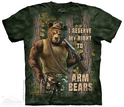 New The Mountain Arm Bears T Shirt