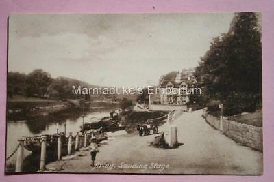 Worcestershire : Arley Landing Stage - Super Original Postcard