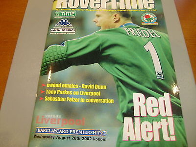 Blackburn v Liverpool 02/03