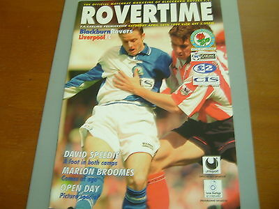 Blackburn v Liverpool 98/99