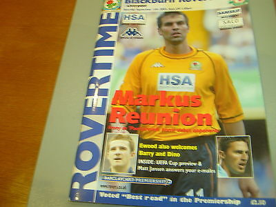 Blackburn v Liverpool 03/04