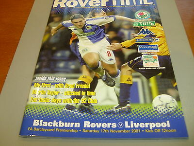 Blackburn v Liverpool 01/02