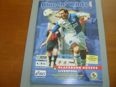 Blackburn v Liverpool 97/98