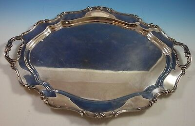 "Hampton Court by Reed & Barton Sterling Silver Tea Tray 24"" x 17"" #661 (#1898)"