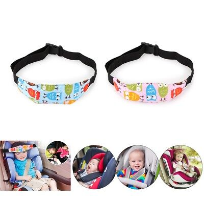 Adjustable Baby Head Support Fastening Pram Belt Car Safety Sleep Positioner