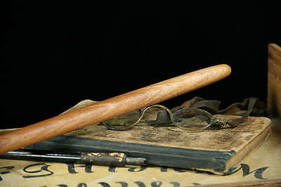 African Mahogany Wood Wand – Wicca Magic Wooden Pagan Witch Wizard Wood Potter