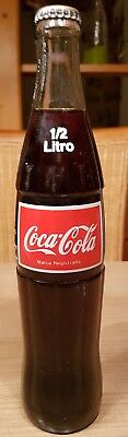 very nice coca cola glass bottle from dominican republic ACL bottle.  Full