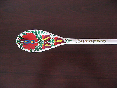 Hungarian Wooden Spoon - Budapest