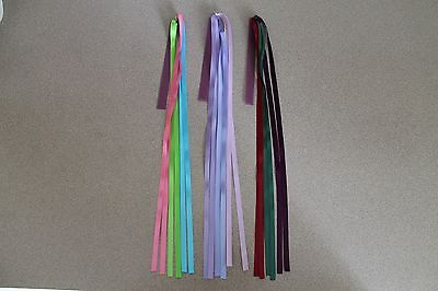 3 Bible Study or College Multi Page Ribbon Bookmarks, for all Bibles & bks, Cp